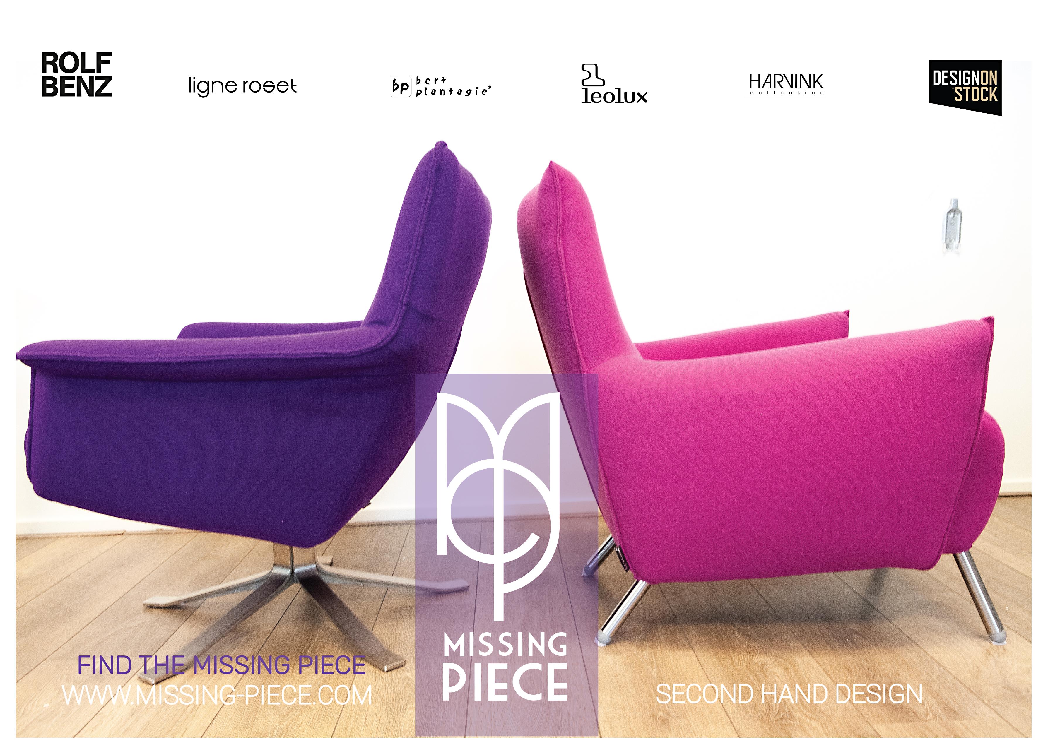 Design Fauteuils Harvink.Welkom Bij De Missing Piece Unieke Designmeubels En